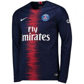 Paris Saint-Germain Home Stadium Shirt 2018-19 - Long Sleeve