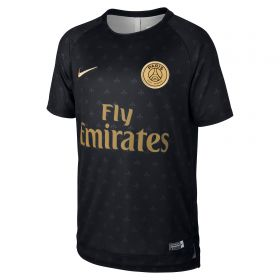 Paris Saint-Germain Pre Match Top - Black - Kids