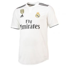 Real Madrid Home Authentic Shirt 2018-19 with Hunter 29 printing