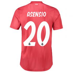 Real Madrid Third Authentic Shirt 2018-19 with Asensio 20 printing