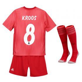 Real Madrid Third Kids Kit 2018-19 with Kroos 8 printing