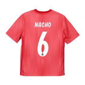 Real Madrid Third Shirt 2018-19 - Kids with Nacho 6 printing
