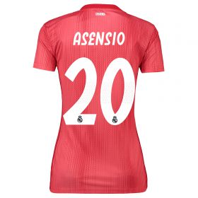 Real Madrid Third Shirt 2018-19 - Womens with Asensio 20 printing