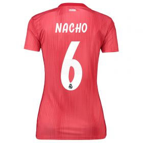 Real Madrid Third Shirt 2018-19 - Womens with Nacho 6 printing