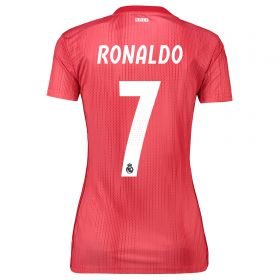 Real Madrid Third Shirt 2018-19 - Womens with Ronaldo 7 printing