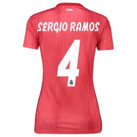 Real Madrid Third Shirt 2018-19 - Womens with Sergio Ramos 4 printing
