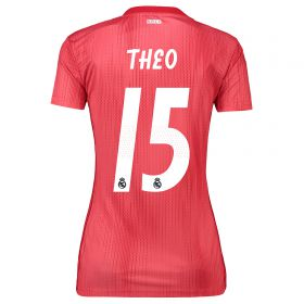 Real Madrid Third Shirt 2018-19 - Womens with Theo 15 printing