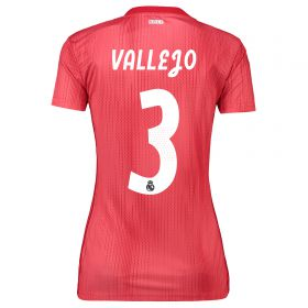 Real Madrid Third Shirt 2018-19 - Womens with Vallejo 3 printing