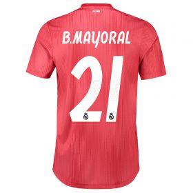 Real Madrid Third Shirt 2018-19 with B. Mayoral 21 printing