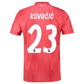 Real Madrid Third Shirt 2018-19 with Kovacic 23 printing
