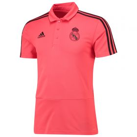 Real Madrid UCL Training Polo - Red