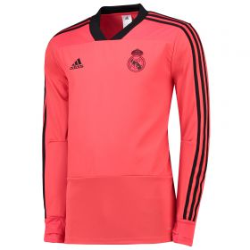 Real Madrid UCL Training Top - Red