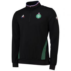 St Etienne 1/4 Zip Training Top - Black