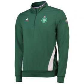 St Etienne 1/4 Zip Training Top - Green
