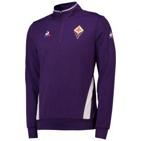 ACF Fiorentina 1/4 Zip Training Top - Purple