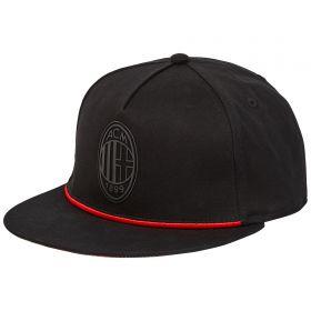 AC Milan Crest Cap - Black
