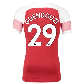 Arsenal Authentic evoKNIT Home Shirt 2018-19 with Guendouzi 29 printing