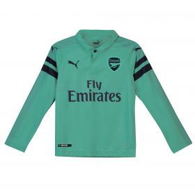 Arsenal Third Shirt 2018-19 - Kids - Long Sleeve with Torreira 11 printing