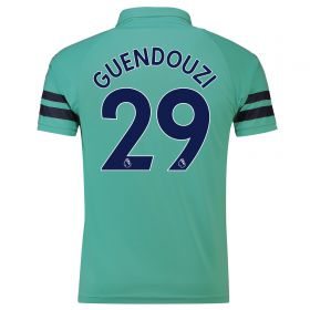 Arsenal Third Shirt 2018-19 - Outsize with Guendouzi 29 printing