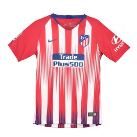 Atlético de Madrid Home Stadium Shirt 2018-19 - Kids with Kalinic 9 printing