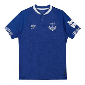 Everton Home Shirt 2018-19 - Kids with André Gomes 8 printing