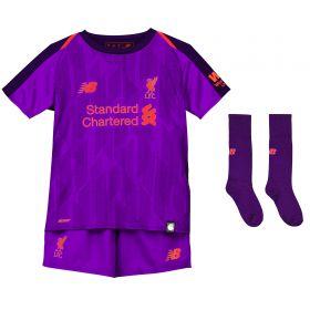 Liverpool Away Infant Kit 2018-19 with Shaqiri 23 printing