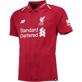 Liverpool Home Shirt 2018-19 with Shaqiri 23 printing