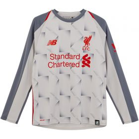 Liverpool Third Shirt 2018-19 - Long Sleeve - Kids with Shaqiri 23 printing
