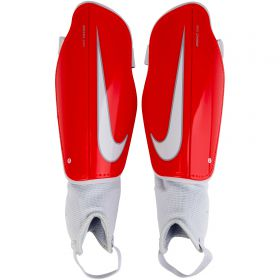 Nike Charge Football Shinguards - Red