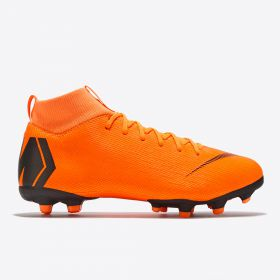 Nike Mercurial Superfly 6 Academy Multi Ground Football Boots - Orange - Kids