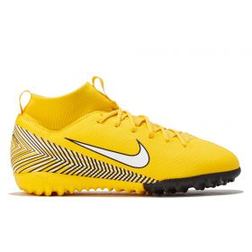 Nike MercurialX Superfly 6 Academy NJR Astroturf Trainers - Yellow - Kids