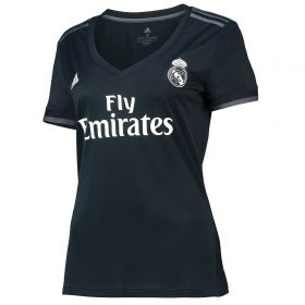 Real Madrid Away Shirt 2018-19 - Womens with Kroos 8 printing