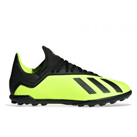 adidas X Tango 18.3 Astroturf Trainers - Yellow - Kids