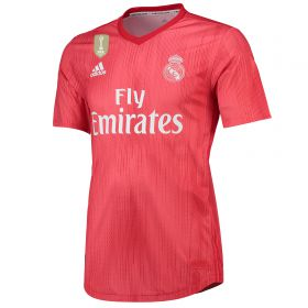 Real Madrid Third Authentic Shirt 2018-19 with Bale 11 printing