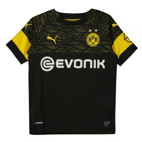 BVB Away Shirt 2018-19 - Kids with Witsel 28 printing
