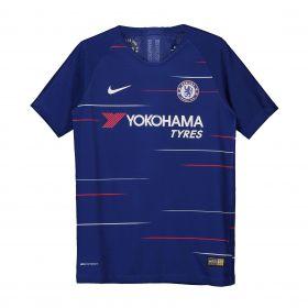 Chelsea Home Vapor Match Shirt 2018-19 - Kids with Loftus-Cheek 12 printing