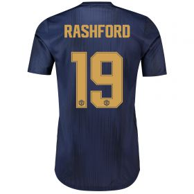 Manchester United Third Cup Adi Zero Shirt 2018-19 with Rashford 10 printing