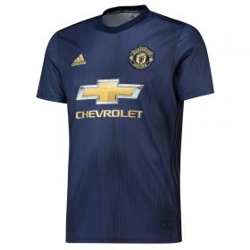 Manchester United Third Shirt 2018-19 with Fred 17 printing
