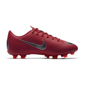 Nike Mercurial Vapor 12 Academy Multi-Ground Football Boots - Red - Kids