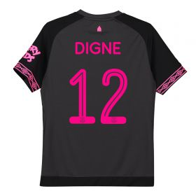 Everton Away Cup Shirt 2018-19 - Kids with Digne 12 printing