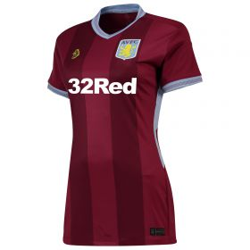 Aston Villa Home Shirt 2018-19 - Womens with De Laet 2 printing