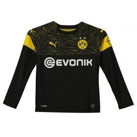 BVB Away Shirt 2018-19 - Kids - Long Sleeve with Paco Alcacer 9 printing