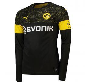BVB Away Shirt 2018-19 - Long Sleeve with Paco Alcacer 9 printing