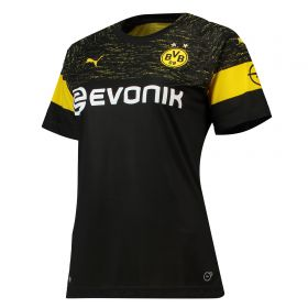 BVB Away Shirt 2018-19 - Womens with Paco Alcacer 9 printing