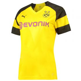 BVB Home Shirt 2018-19 - Womens with Paco Alcacer 9 printing