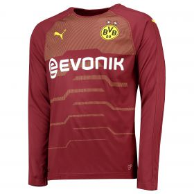 BVB Third Shirt 2018-19 with Paco Alcacer 9 printing