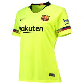 Barcelona Away Stadium Shirt 2018-19 - Womens with Piqué 3 printing