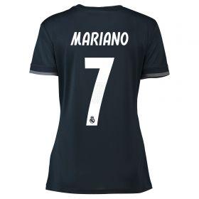 Real Madrid Away Shirt 2018-19 - Womens with Mariano 7 printing