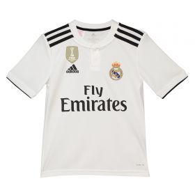 Real Madrid Home Shirt 2018-19 - Kids with Mariano 7 printing