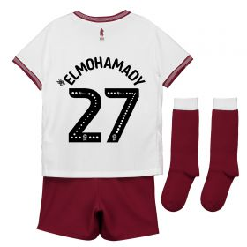Aston Villa Away Infant Kit 2018-19 with Elmohamady 27 printing